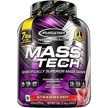 powerful MuscleTech Mass Gainer Protein Powder