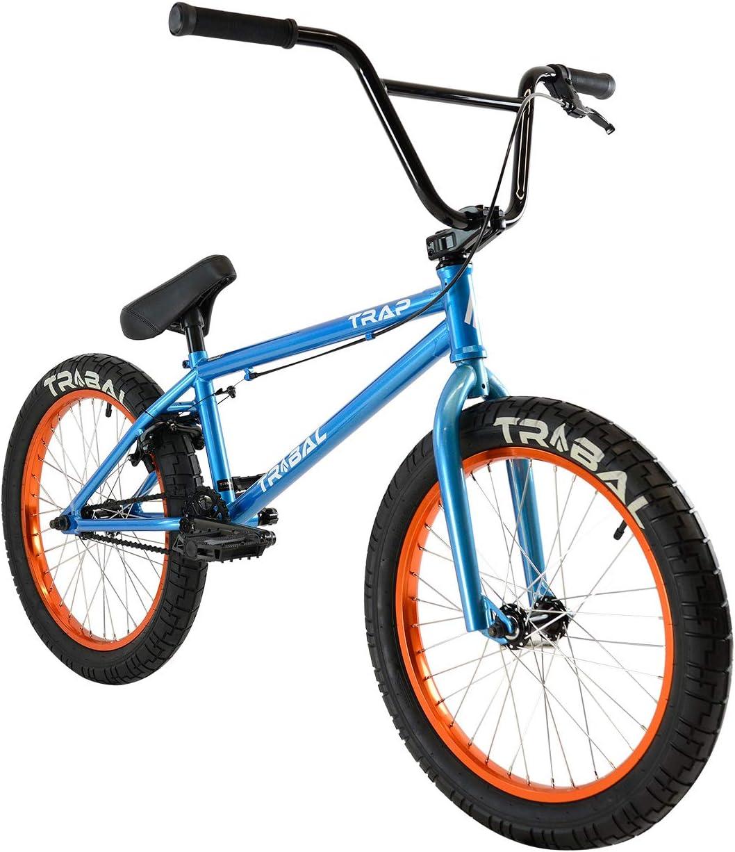 Trampa Tribal BMX - Bicicleta BMX, color azul cielo metálico, Met ...