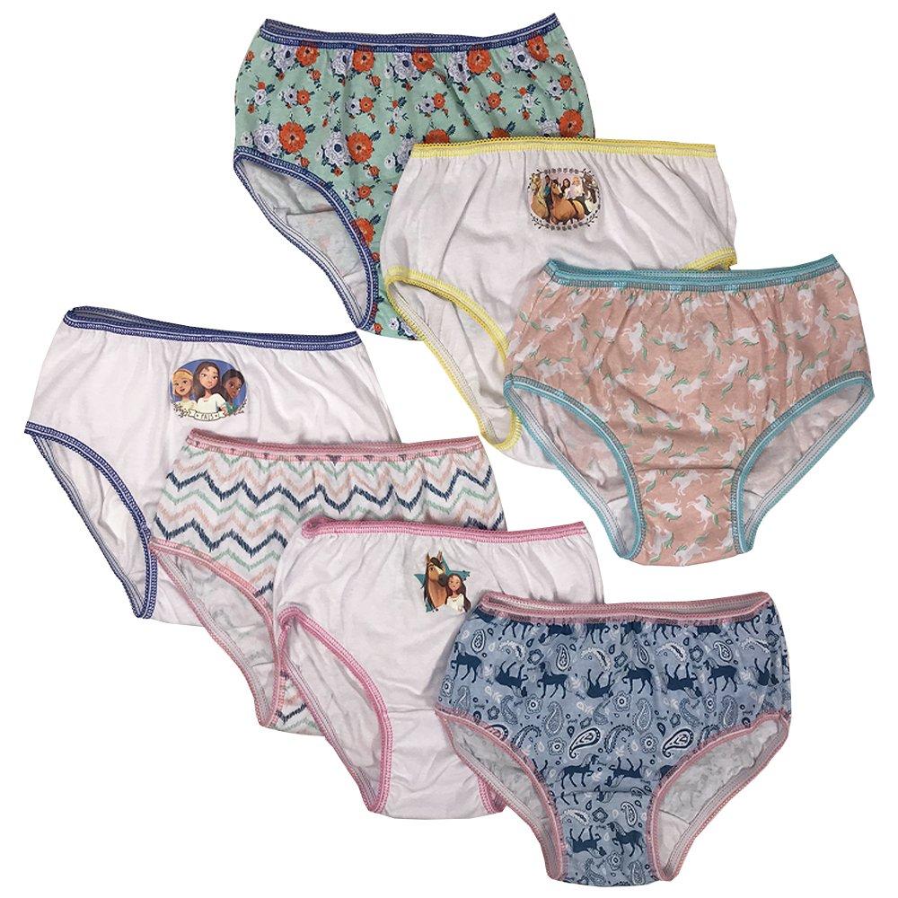 Dreamworks Girls' 7-Pack Spirit The Horse Underwear Panty GUP5510