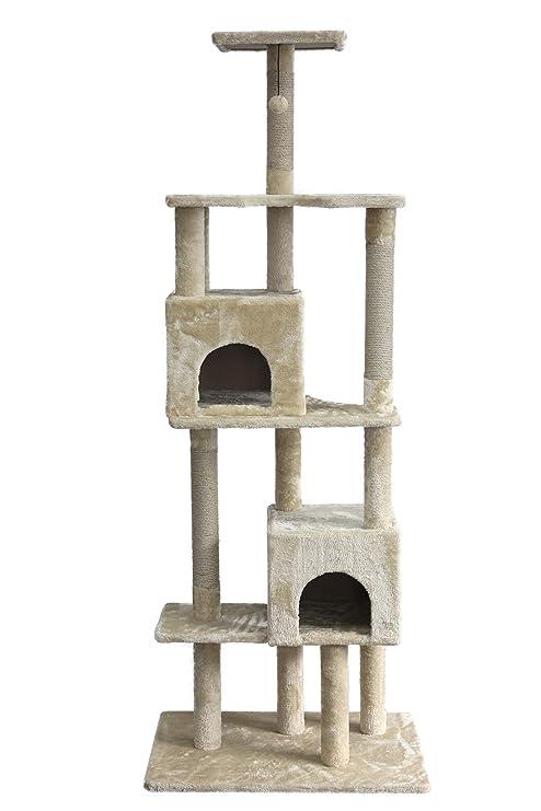 Amazon.com: AmazonBasics Árbol para gatos con cueva: Mascotas
