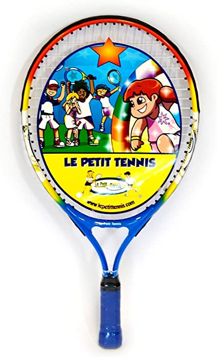 Amazon Com Le Petit Tennis Racquet 19 Inches Ages 5 To 6 Toys Games