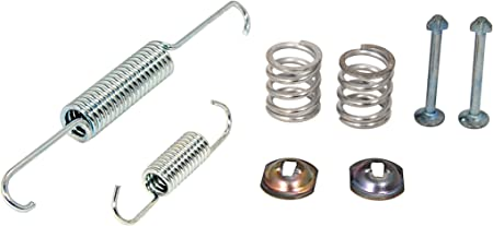 ACDelco 23299313 GM Original Equipment Rear Parking Brake Hold Down Spring Kit with Springs and Pins