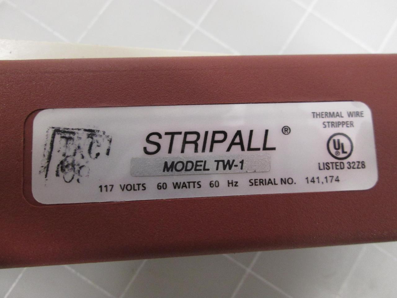 Teledyne Thermal Wire Stripper Stripall Plus, TW-1, 117v AC ...