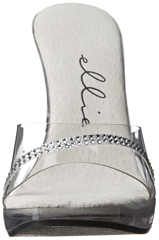 Ellie Shoes Women's 502 9 Jesse Dress Sandal 9 502 M US|Clear B00JEEYFEK 457dda