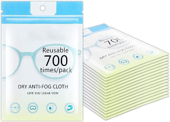 Espejos de Coche Tabletas MOSSLIAN Toallitas Antivaho Utilizadas para Gafas Gafas de Protecci/ón Pantallas 50pcs Toallitas de Limpieza Antivaho Espejo de Maquillaje