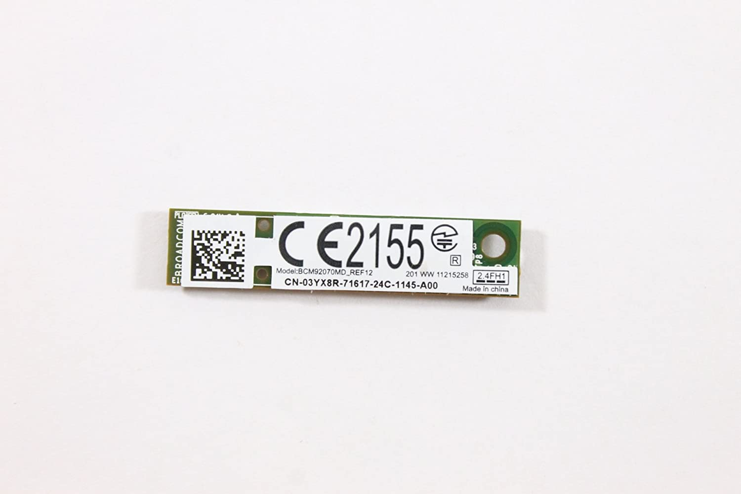 Dell Adapter 3YX8R WPAN Bluetooth 4.0 Wireless Card Latitude E5530