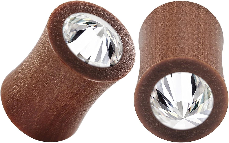 6mm 2g 716 10mm Hanger sawo wood gauges with flower carving4g 0g 5mm 14mm 12 11mm 916 00g 12mm 8mm