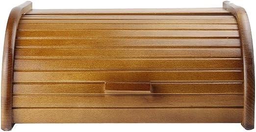 Panera de madera/madera – Caja para guardar pan pan: Amazon.es: Hogar