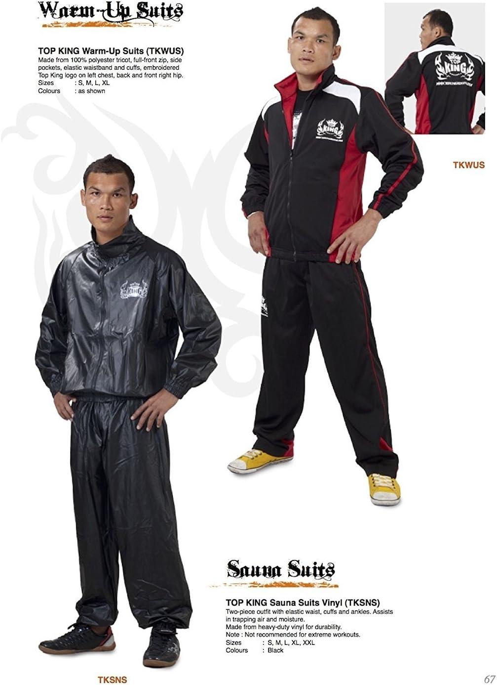Top King Vinyl Sauna Suit