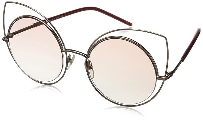 f7bdc8852e7a Marc Jacobs Women's Marc10s Cateye Sunglasses, Light Gold/Pink Beige, 53 mm