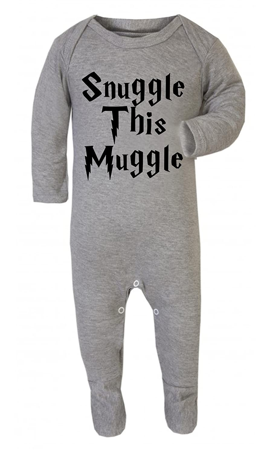 Harry Potter Inspired Gift Baby Vest Snuggle This Muggle Babygrow