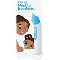 FridaBaby Electric NoseFrida | USB Rechargeable Nasal Aspirator with Different Levels of Suction by Frida Baby