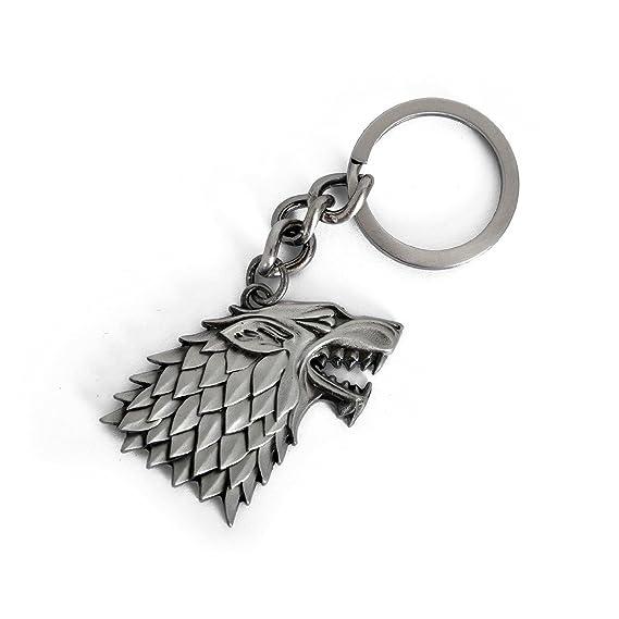 Amazon.com: Genérico – Stark Llavero/Llavero Game of Thrones ...