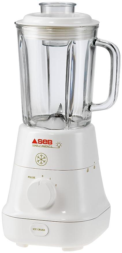 SEB BL5201 - Licuadora (Vidrio, 165 x 165 x 410 mm) Color blanco ...