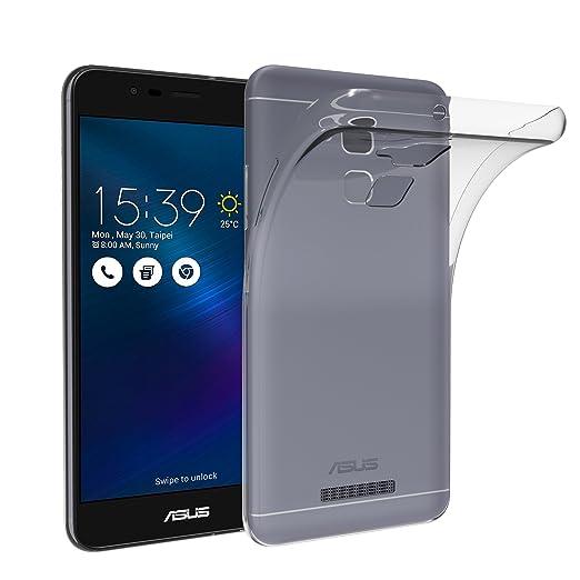 35 opinioni per Asus Zenfone 3 Max ZC520TL 5.2 pollici Custodia, iVoler® Soft TPU Silicone Case