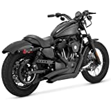 Vance & Hines Big Radius 2 into 2 Exhaust Black Sportster 883/1200 (46055)