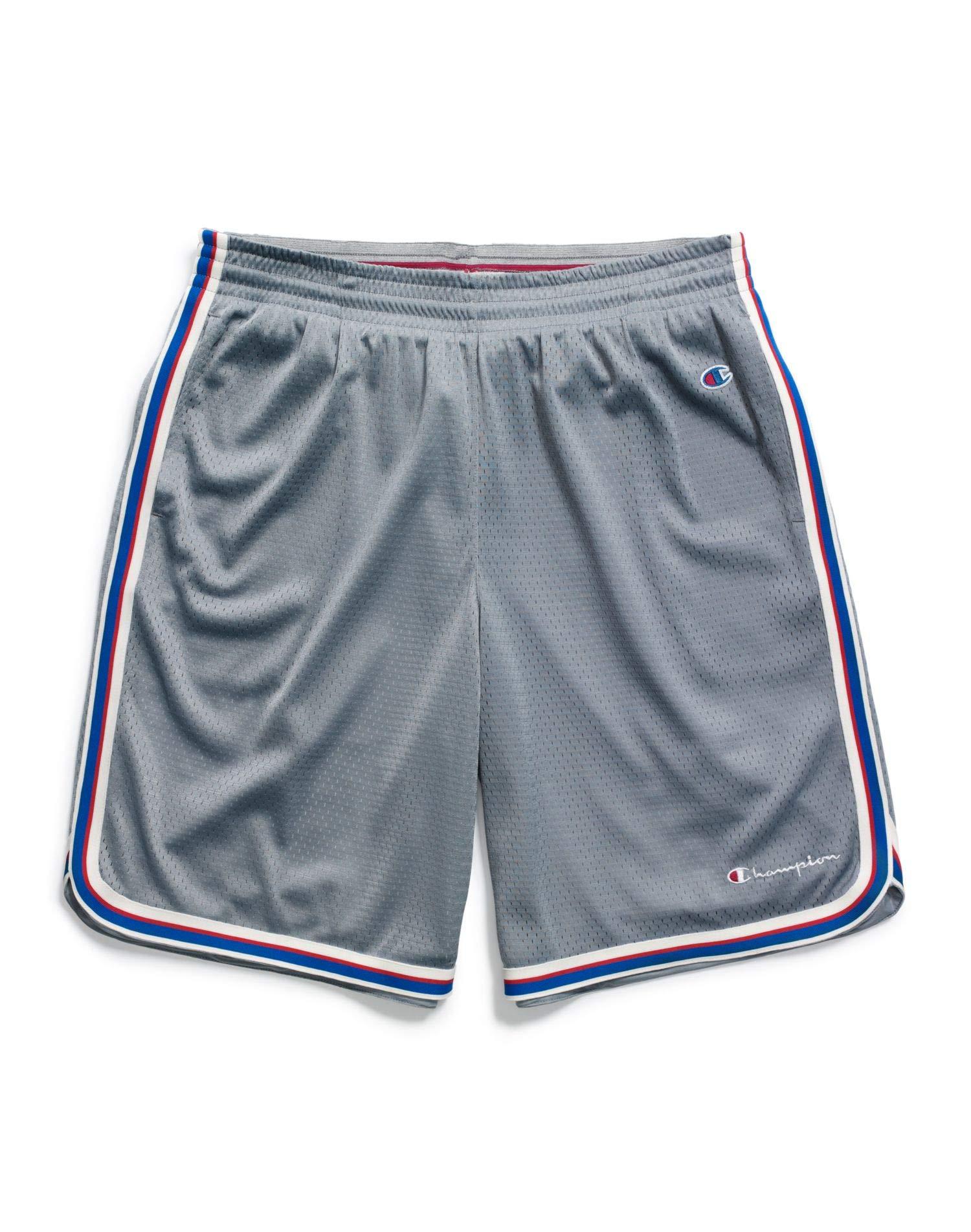 Champion Men's Core Basketbal Short, Concrete, Large