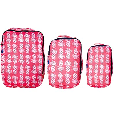 Amazon Com Rockflowerpaper Wimbledon Tennis Pink Blu Bag Travel