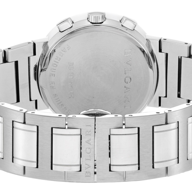 Amazon.com: Bvlgari Watch Bb38bssdch Bulgari Bulgari Chronograph: Watches