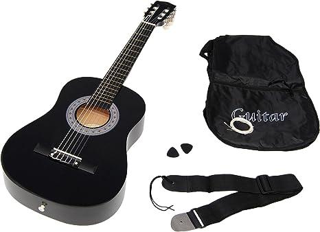 Ts-Ideen 5276 - Guitarra acústica infantil (talla 1/2 para 6-9 ...