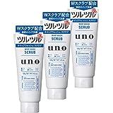 【まとめ買い】 ウーノ (uno) ホイップウォッシュ (スクラブ) 洗顔料 130g×3個