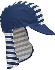 Playshoes Jungen Mütze Badekappe, Bademütze Maritim mit UV-Schutz