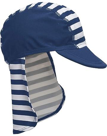 Playshoes Badekappe, Bademütze Maritim Mit UV-Schutz Sombrero para Niños