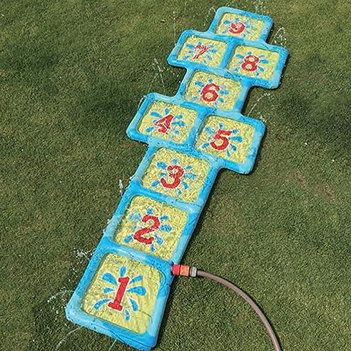 Garten Wasser Spiel Hinkelkasten Kinder Hüpfspiel mit Zahlen ...