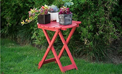 Lytsm portabiciclette da giardino tavolo in legno massiccio tempo