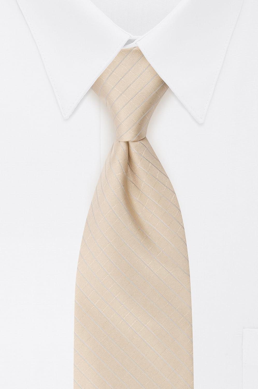 Calvin Klein corbata con ventana grabada para hombre - Beige - X ...