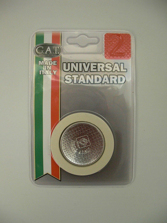 Juntas de goma y filtro de GAT para cafetera espresso (fabricado en Italia) 1 Cup 51mm bli01