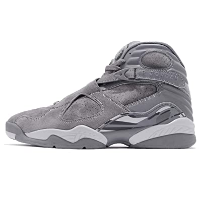 1e4969afeb8c Image Unavailable. Image not available for. Color  Jordan 305381-014 Men AIR  8 Retro Cool Grey Wolf Grey