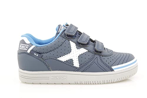 Zapatillas Niño Munich G-3 Kid VCO Twinner 27 Azul: Amazon.es: Zapatos y complementos
