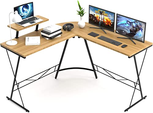 L Shaped Desk Aneken 50.8 Home Office Desk