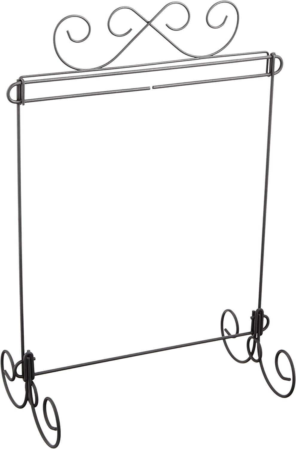 """Quilt Hanger Tabletop Scroll Single Stand 12/""""x12/"""" Craft Display"""