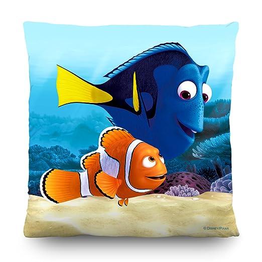 AG Diseño CND 3101 Disney Buscando a Nemo, cojín, 45 x 45 cm – 1 Notebook, poliéster, Colorful, 45 x 45 cm