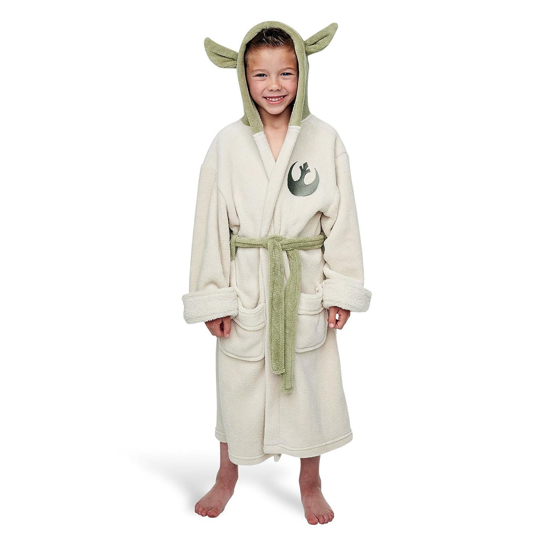 Large) Yoda Children\'s Dressing Gowns - Star Wars Bathrobe: Amazon ...