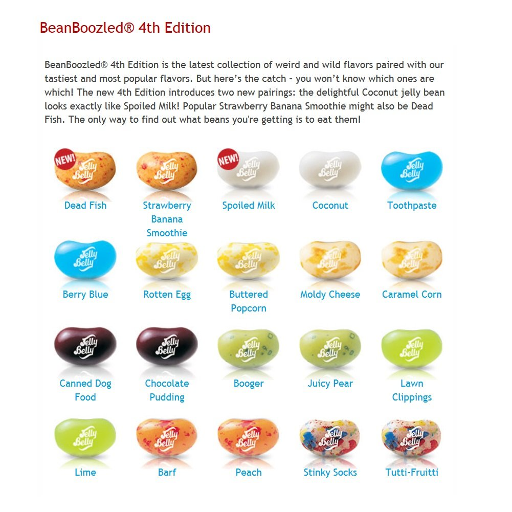 Bean Boozled All Flavors