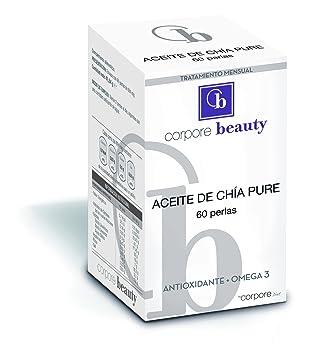 Corpore Beauty Perlas de Aceite de Chía - 60 Cápsulas ...