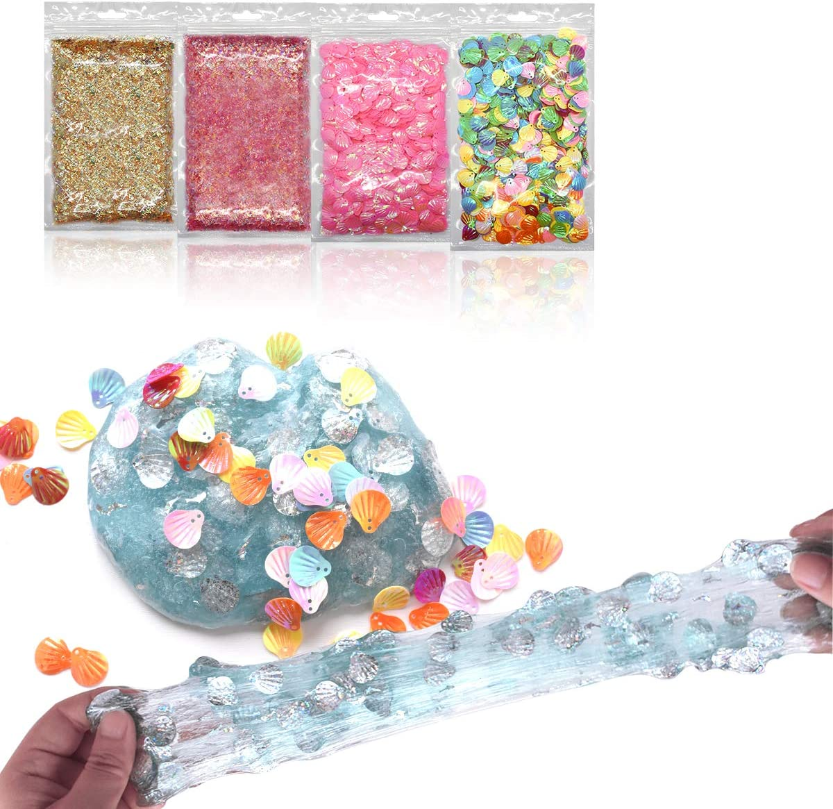 certylu Slime Bead Slime Supplies Accessori per FUD Fuff 70pcs