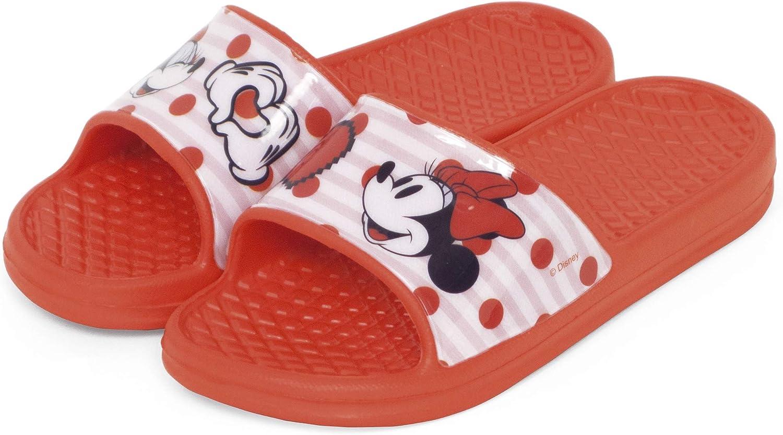 Flip-Flop Minnie Mouse Disney pour la plage et la piscine Sandales Minnie Mouse pour fille