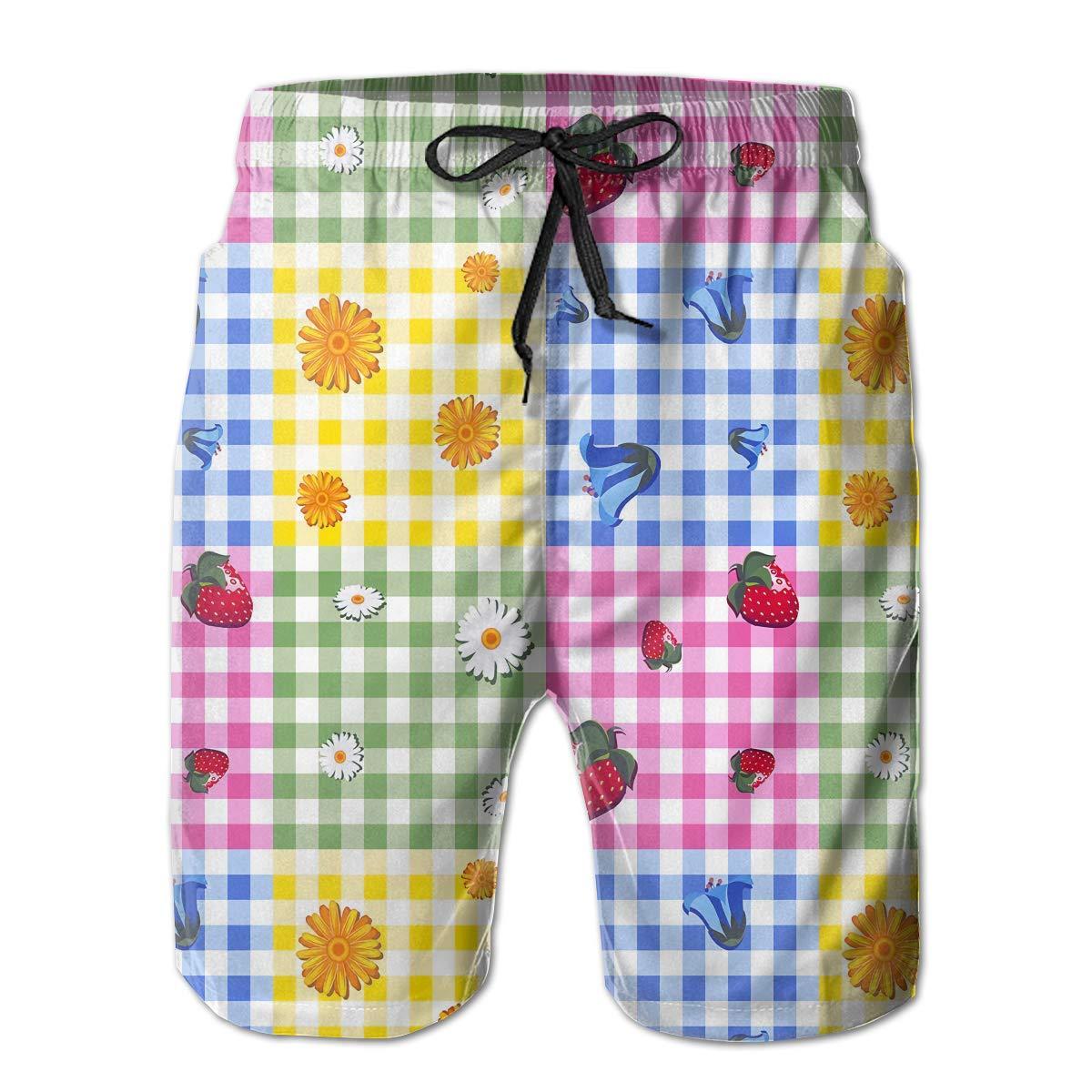 Rigg-pants Mens Soft Hawaii Surfing Tour Funny Beach Shorts Swim Trunks Board Shorts