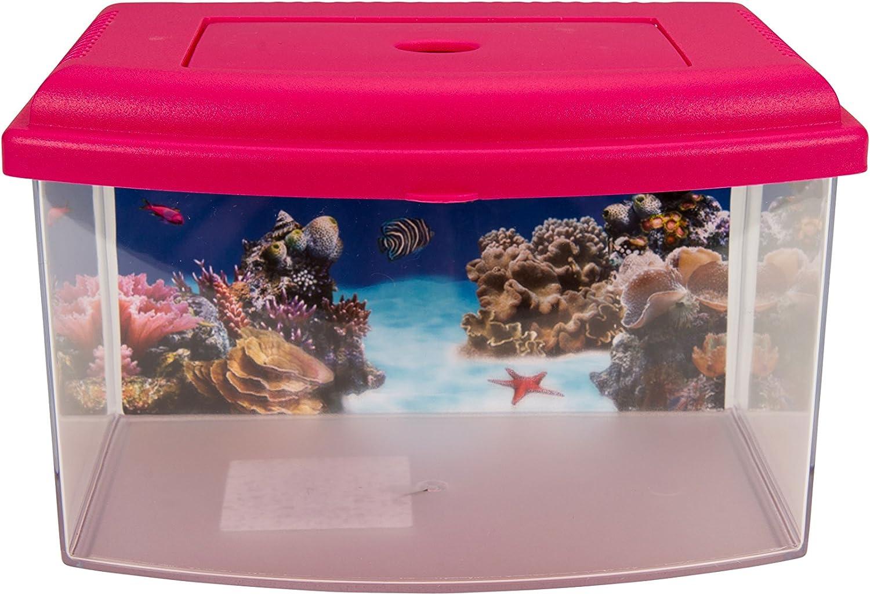 Aimé Aquarium Plastic Aquarium - 1 Unidad, colores surtidos