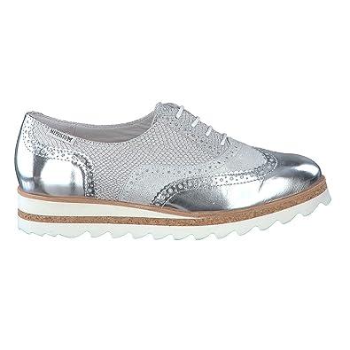 Mephisto Tomasia - Zapatos de cordones para mujer, color blanco, talla 38.5