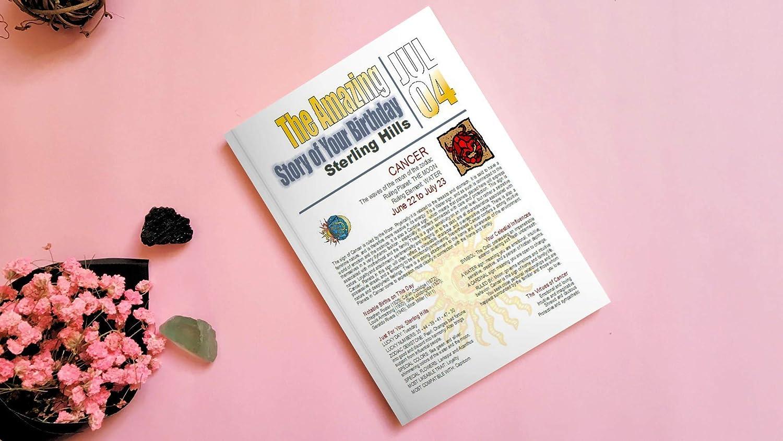 Amazon Amazing Astrology Personalized Print Zodiac Printable
