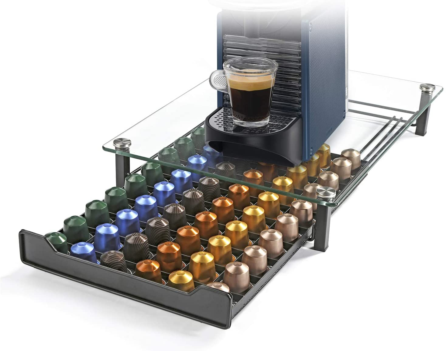 HiveNets Nespresso Cajón para Almacenar Cápsulas de Café ...
