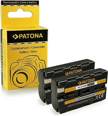2x Batería NP-F550 para Sony BC-V615 | DCM-M1 | DCR-TRU47E | MVC-