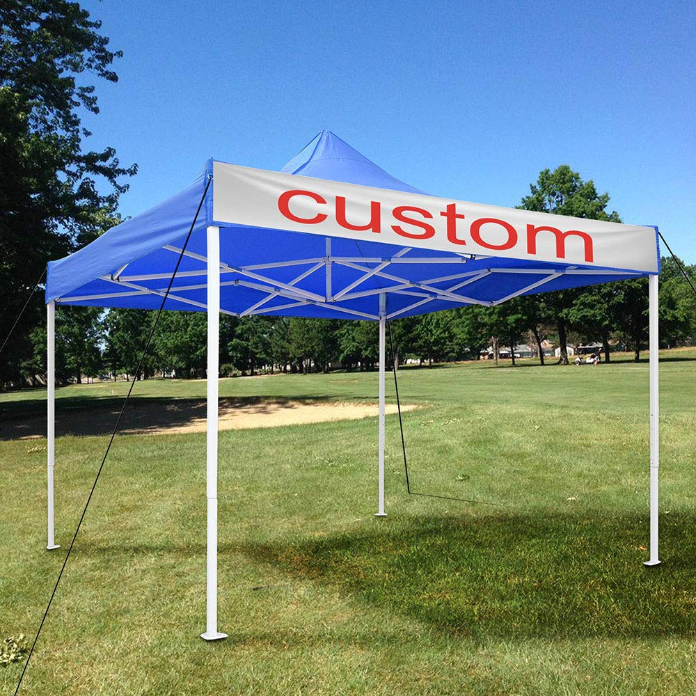 Instahibit 10×10 Pop Up Canopy Tent Outdoor Heavy Duty Tent for Party Event Wedding with Carry Bag, Blue