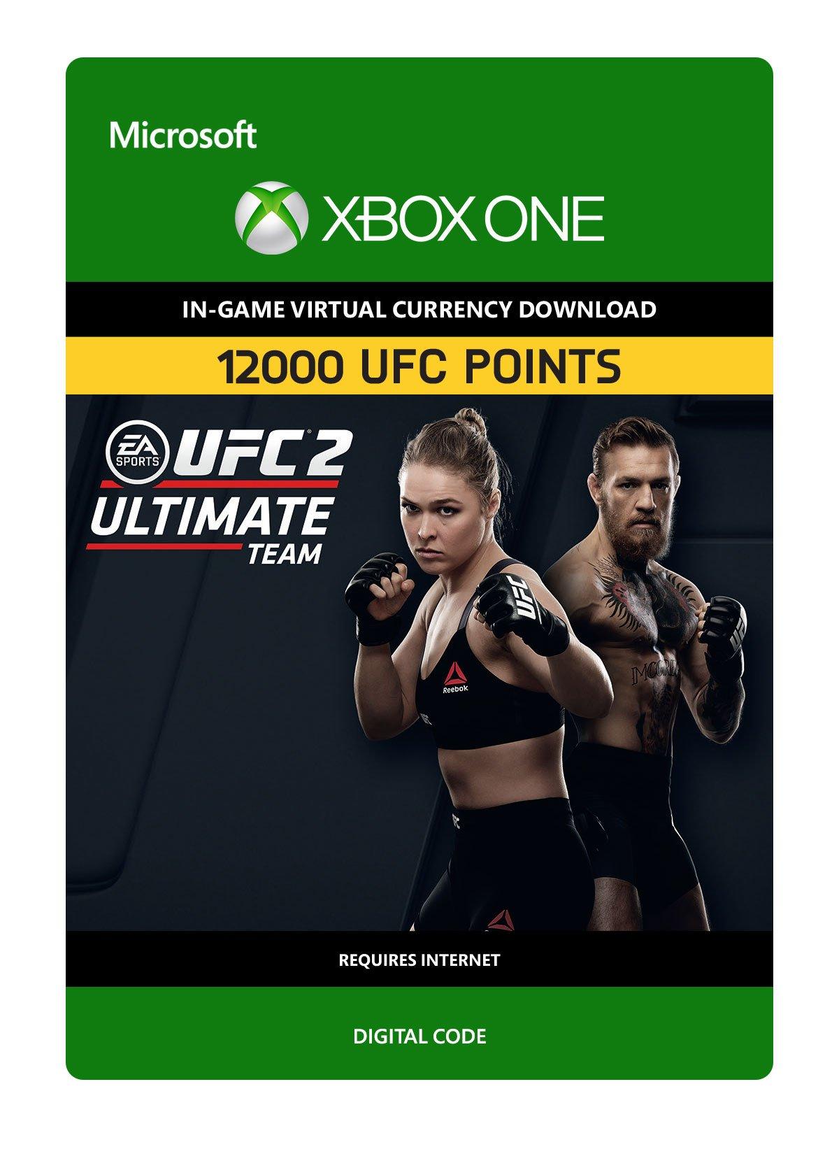 UFC 2 - 12000 UFC POINTS - Xbox One Digital Code