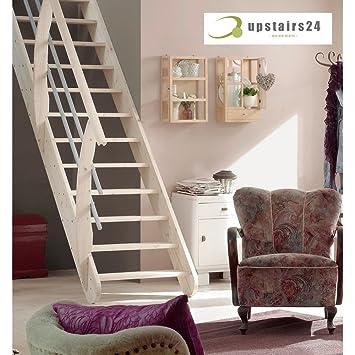 Escalier Gain De Place En Epicea Massif Living Amazon Fr